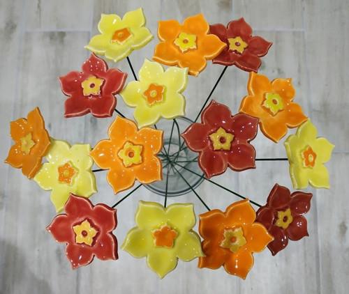 SADA - kytice - 15 květinek