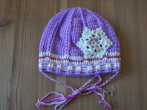 Vločková čepice na zimu