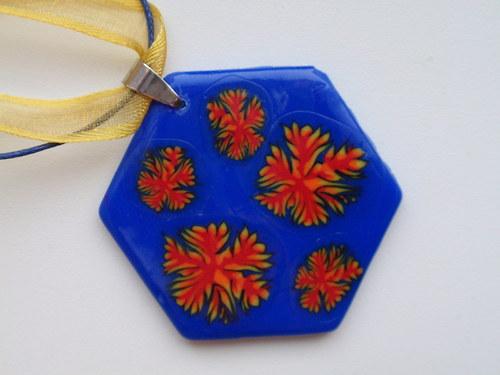 Indiánské léto šestiúhelník