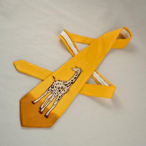 Kravata se žirafou
