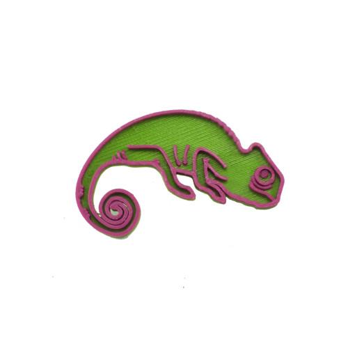 Chameleon green/purple