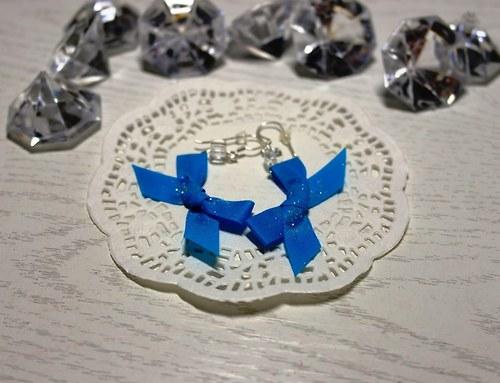 Modré mašličky