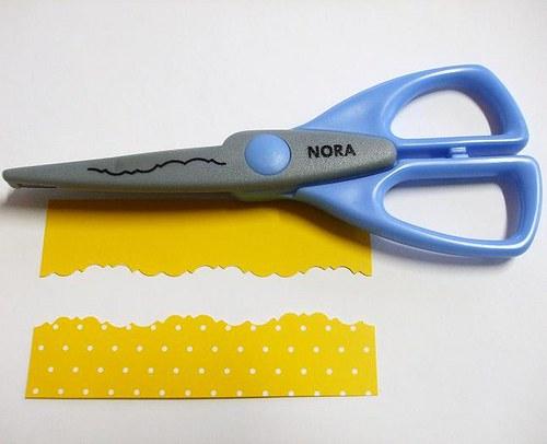 Okrasné nůžky Nora