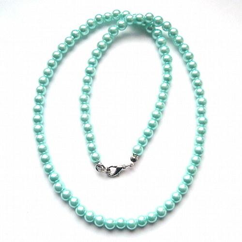 Modrý náhrdelník