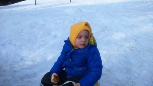 Dětská zimní kukla František Kouzelný