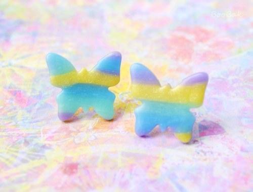 Motýle pastelkové