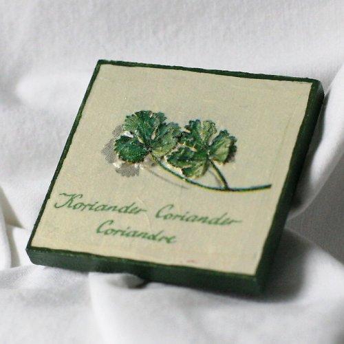 magnetka zelené bylinky