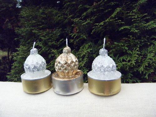 Svíčka - koulička na čajovce