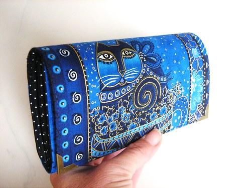 Luxusní Šelmička v modré II - 16 x 10,5