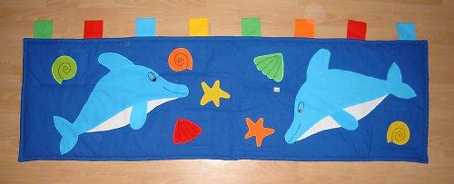 Kapsář dva delfíni