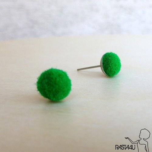 Pecky plyšáci  - zelená