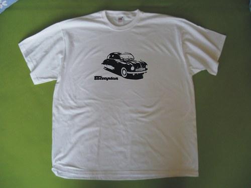 tričko Tatraplán - retro motiv