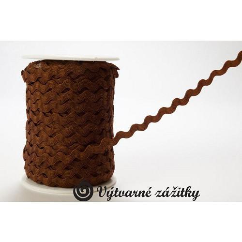 Prýmek pevný VLNKA - šíře 1 cm