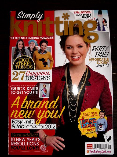 Čas. Simply Knitting č.88 leden 12