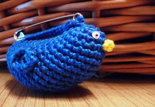 Ptáček modráček