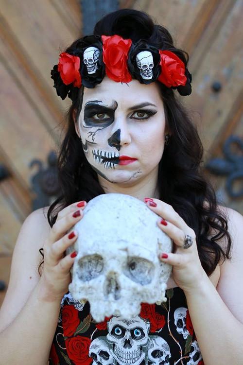 Čelenka skull