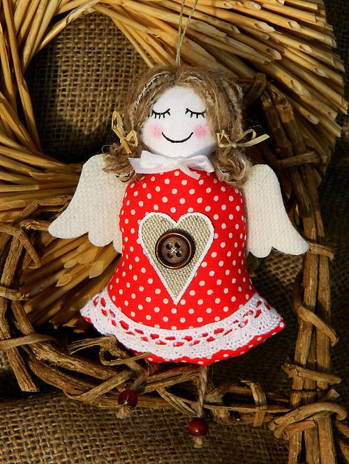 Staročeské Vánoce - andělka