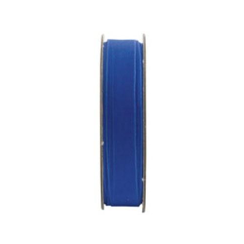 Stuha organza modrá
