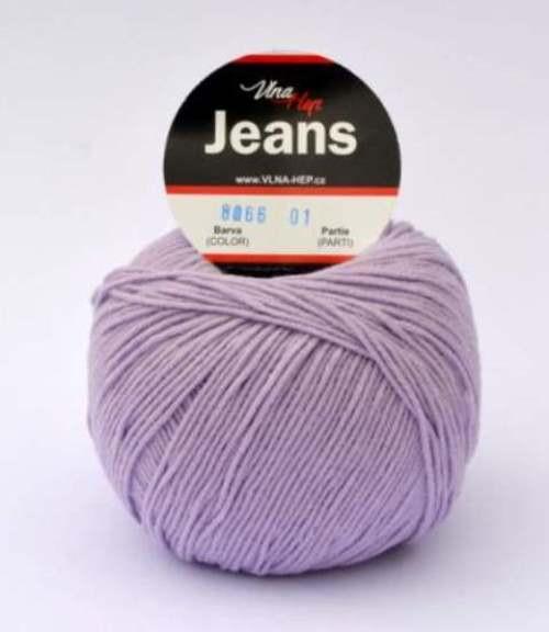 Jeans levandulová 8066