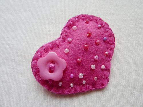 ♥♥♥ Brož Srdce ♥♥♥