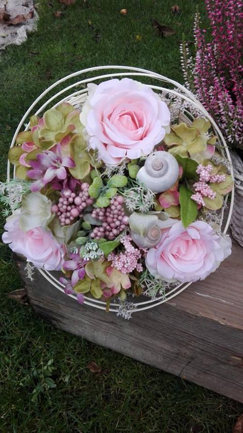 Kytička s růžemi (set 1)