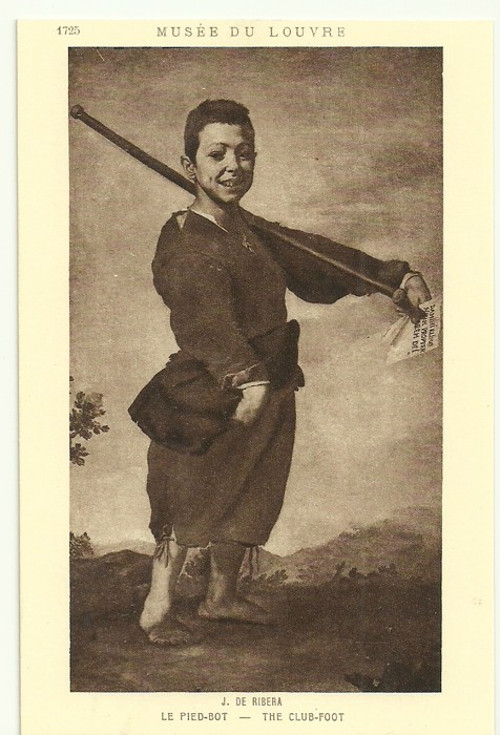 Umělecká pohlednice J.De Ribera