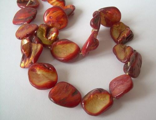 Perleťové nugety- 5 ks