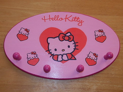 Věšáček Hello Kitty
