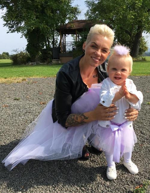 Tutu set pro  maminku + dcera  (kolová sukně)