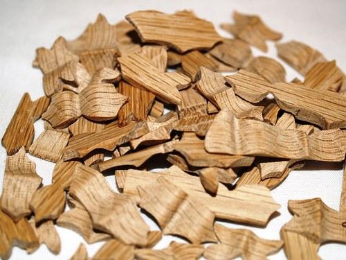Vařečka dřevěná na kousky rozřezaná 2 vrstvy