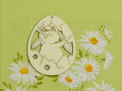 Vajíčko - králík ve skořápce