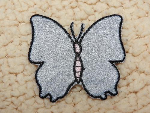 Nažehlovačka reflexní Motýl