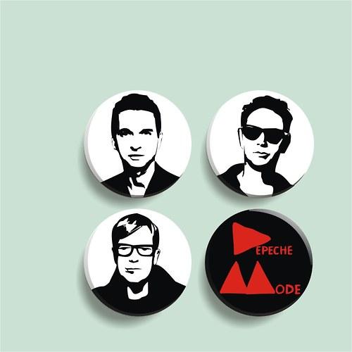 Depeche mode - sada 4 placek