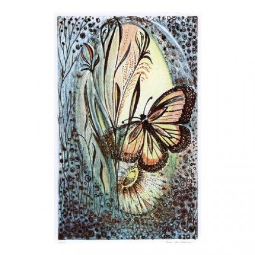Originál litografie - Pro radost