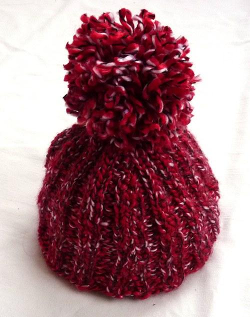 Čepice červená mini