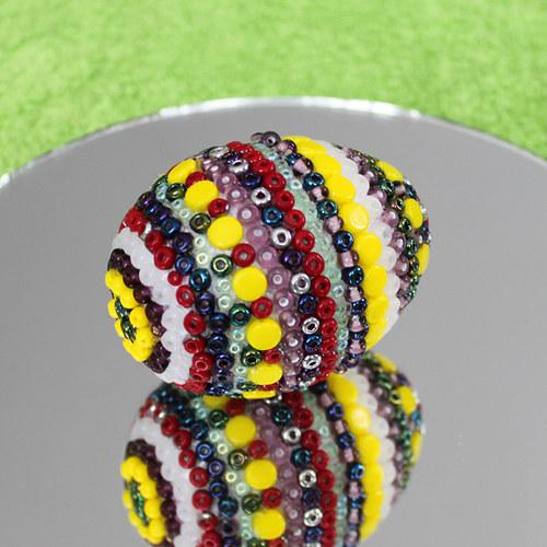 Velikonoční vajíčko od skleněného kohouta 05