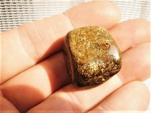Bronzit Brazílie 25 x 22 x 13 mm
