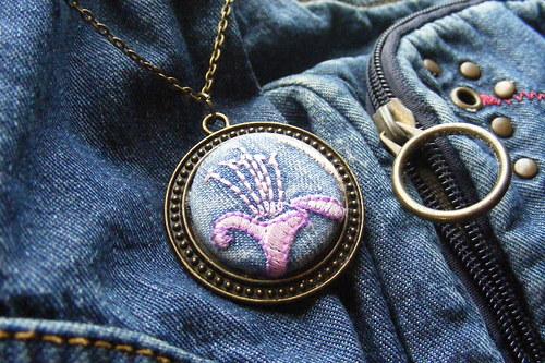 Riflový náhrdelník velký