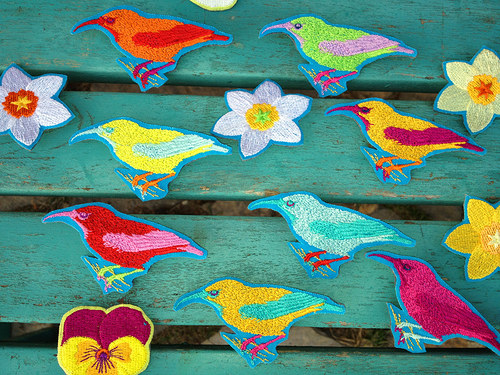brož  hummingbirds