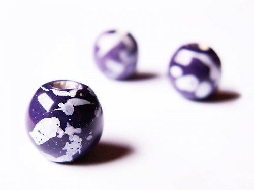 Kulička tmavě fialová - větší ((KOM34))