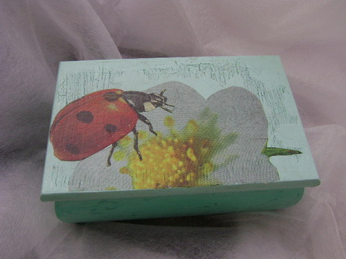 Krabička s beruškou