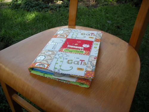 CATS - obal na zápisník, knihu