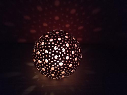 svícen koule 14 cm