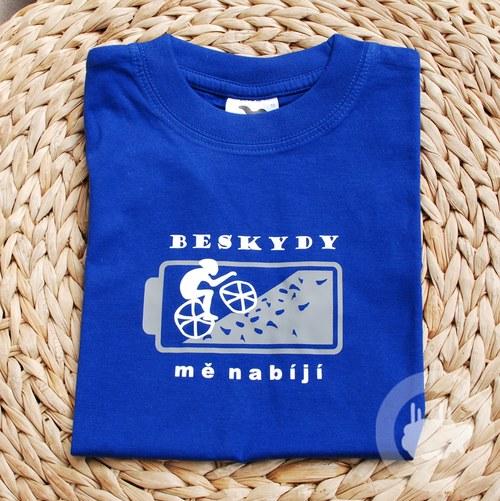 Cyklista - Tričko z Beskyd - děti, 10 let