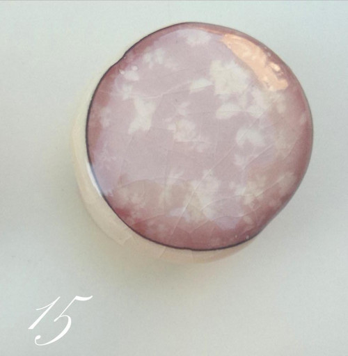 Keramická úchytka č. 15 ze série Pink