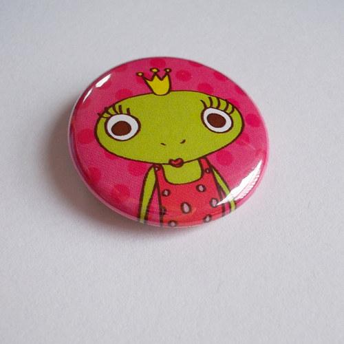 Žabí princezna (placka)