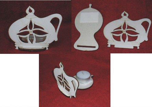 VÝPRODEJ-stojánek na čaj.svíčku vánoční SVÍČKA
