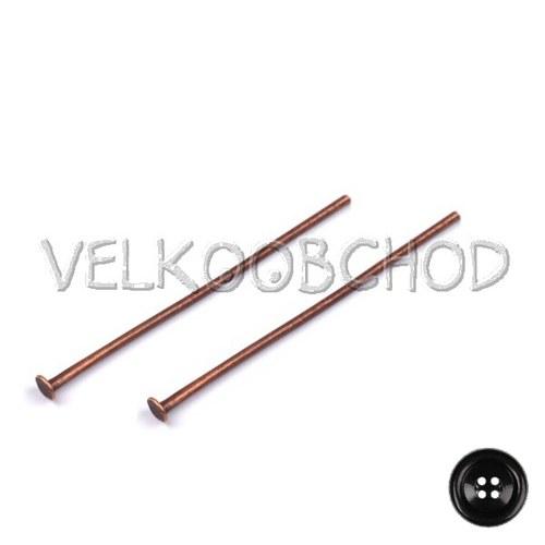 Ketlovací nýty 40 mm (500 ks) - staroměď