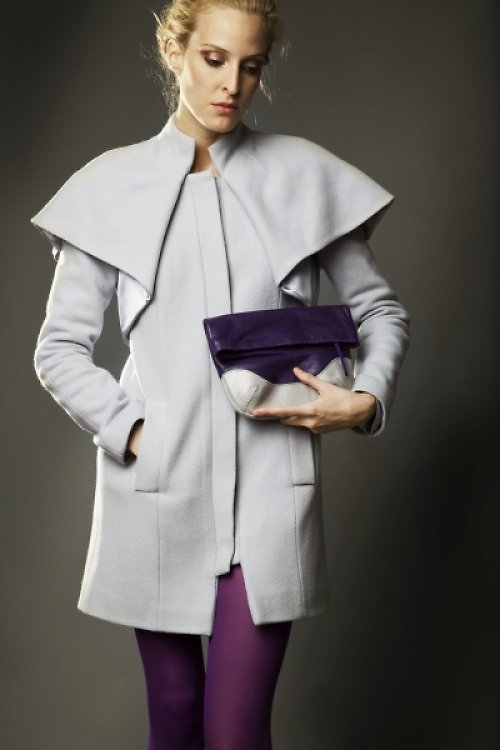 kabát - pelerýna (na zakázku)