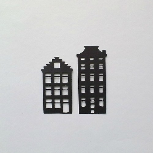 Výsek - Domečky 2 ks